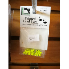 PAINTED LEAD EYES CHARTREUSE SMALL